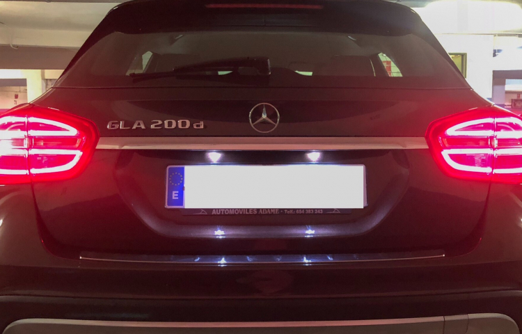 Hire a Mercedes GLA 200 in Madrid
