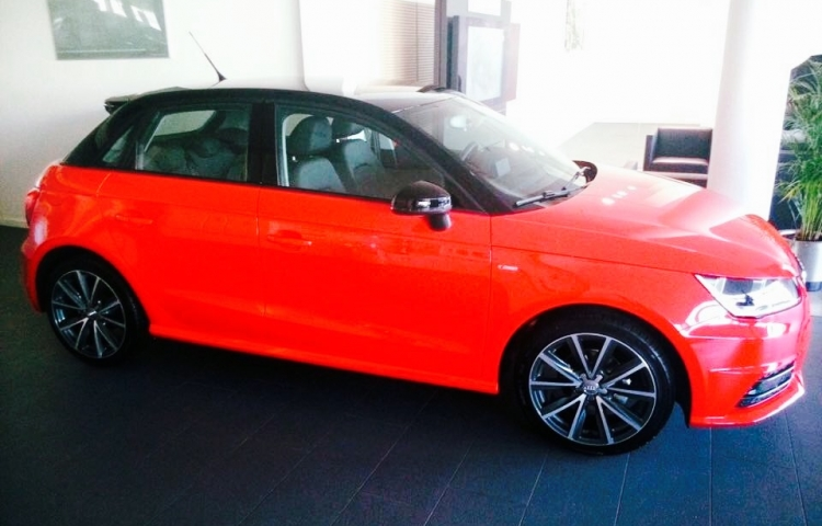 Hire a Audi A1 Sportback in Madrid