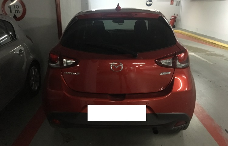 Hire a Mazda 2 in Barcelona