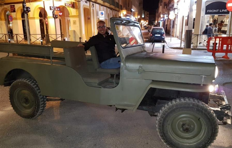 Hire a Jeep Willys in Ibiza
