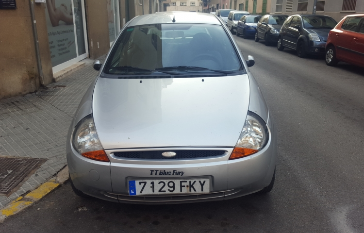 Hire a Ford Ka in Palma de Mallorca