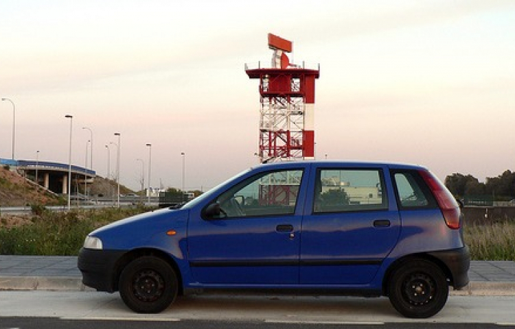 Hire a Fiat Punto in Barcelona