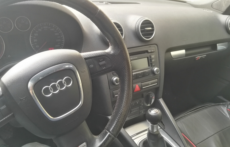 Hire a Audi A3 in Madrid