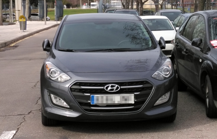 Hire a Hyundai I30 in Madrid
