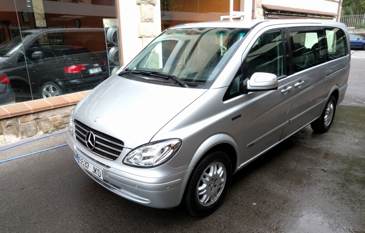 Hire a Mercedes Viano in Galdakao