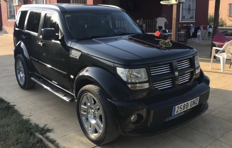 Hire a Dodge Nitro in Ibiza