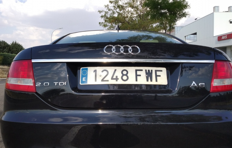 Hire a Audi A6 in Madrid