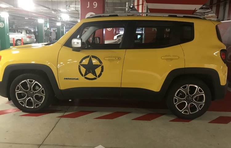 Hire a Jeep Compass in Coruña