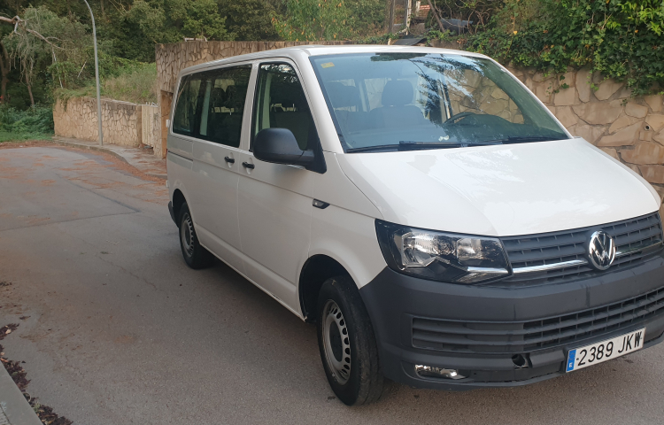 Hire a Volkswagen Transporter in Barcelona
