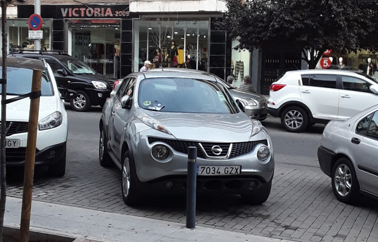 Hire a Nissan Juke in Madrid