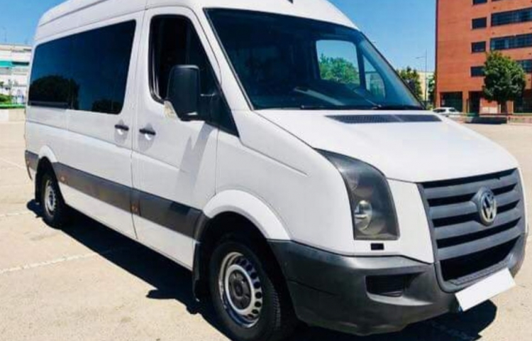 Hire a Volkswagen Crafter in Madrid