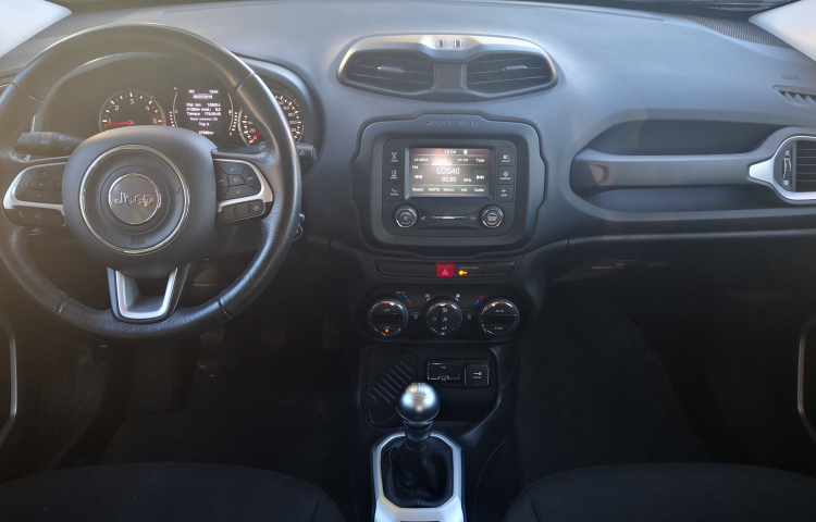 Hire a Jeep Renegade in Madrid