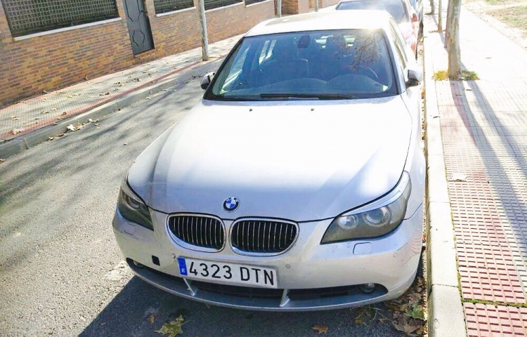 Alquilar un BMW Serie 5 Berlina en Madrid