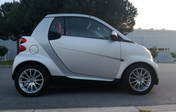 Hire a Smart ForTwo in Barcelona