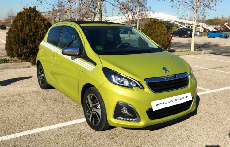 Hire a Peugeot 108 in Madrid