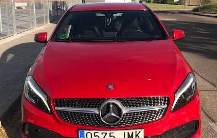 Hire a Mercedes Clase A in Madrid