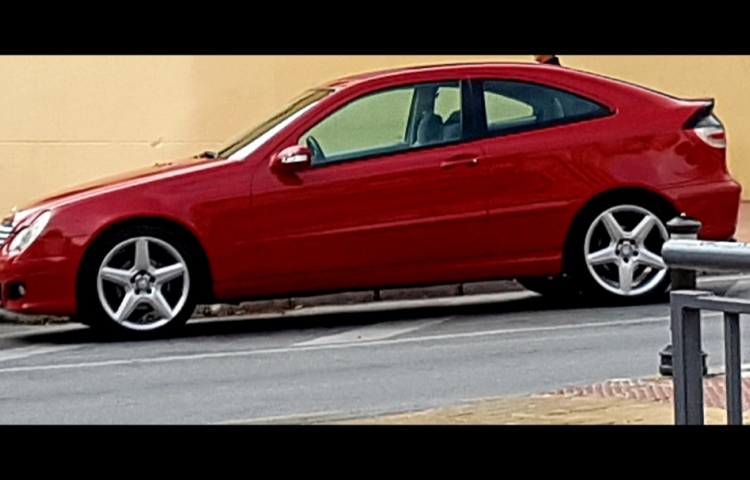 Hire a Mercedes Clase C in Málaga