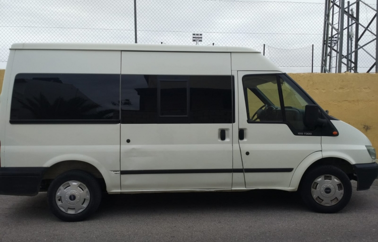 Hire a Ford Transit in Ogíjares
