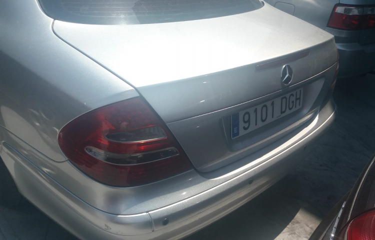 Hire a Mercedes Clase E in Madrid