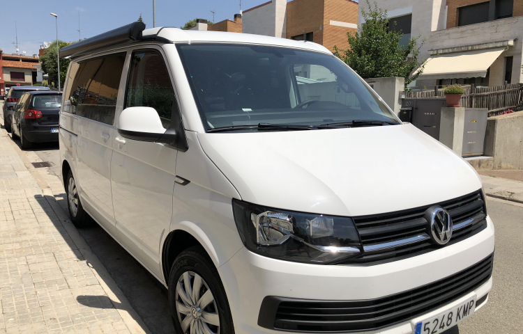 Hire a Volkswagen California in Vic
