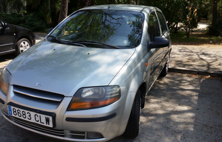 Hire a Daewoo Kalos in Madrid