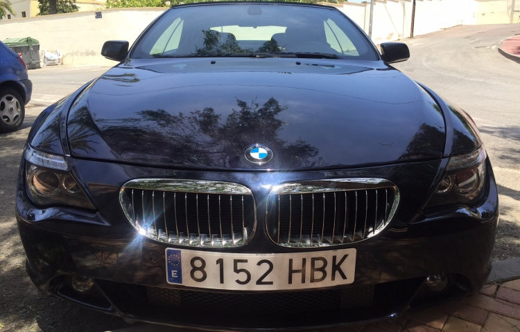 Hire a BMW Bmw Serie 6 in Murcia