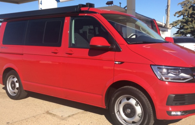 Hire a Volkswagen California in Premiàde Mar