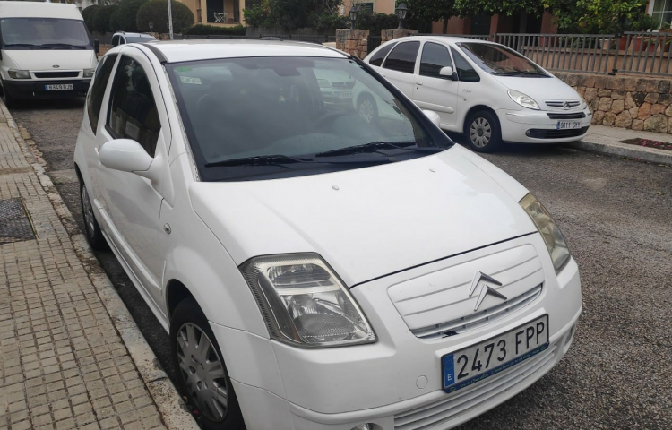 Alquilar un Citroen C2 en Marratxí