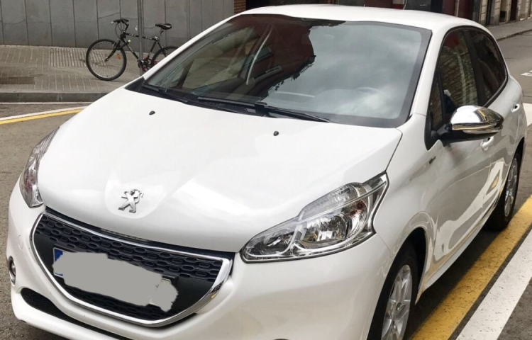 Hire a Peugeot 208 in Barcelona