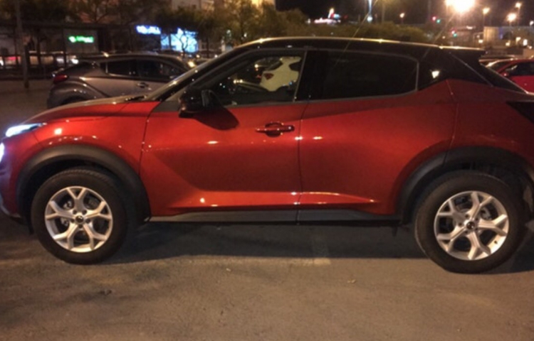 Hire a Nissan Juke in Alicante
