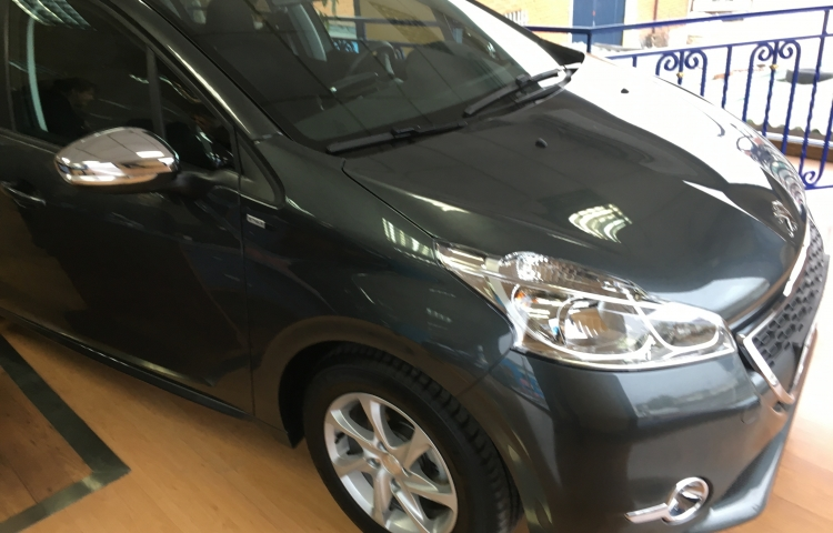 Hire a Peugeot 208 in Madrid