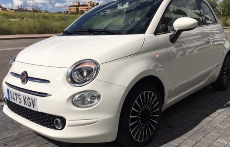 Hire a Fiat 500 in Madrid
