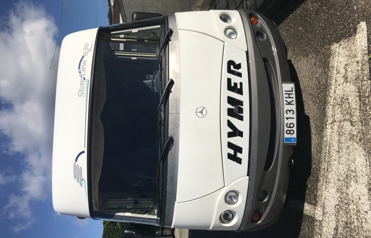 Hire a Hymer Hymermobil Starline in Cuntis