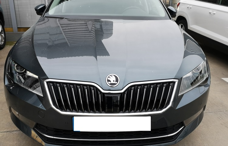 Alquilar un Skoda Superb en Madrid