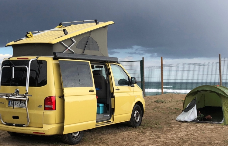 Hire a Volkswagen California in Barcelona