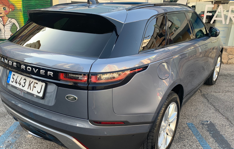 Hire a Land Rover Velar in Madrid