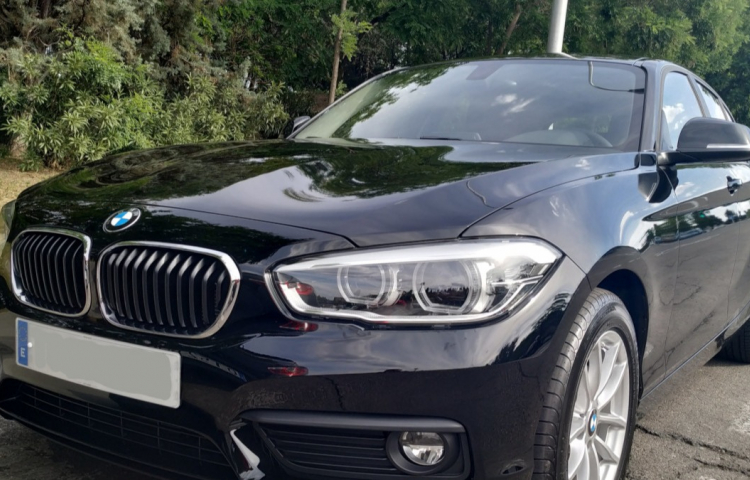 Hire a BMW Serie 1 5p in Madrid