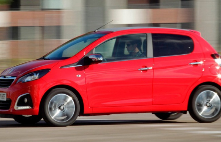 Hire a Peugeot 108 in Cuenca
