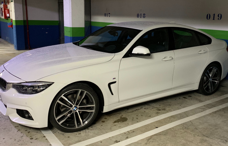 Hire a BMW Serie 4 in Oviedo