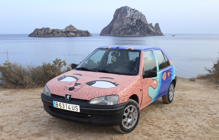 Hire a Peugeot 106 in Ibiza