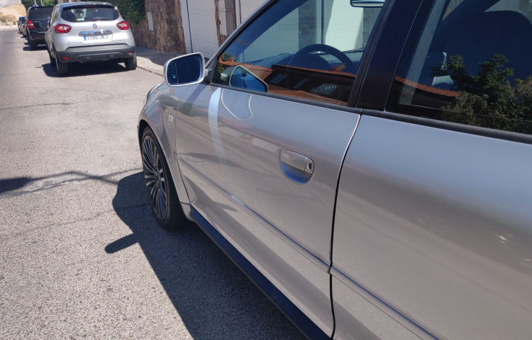 Hire a Audi S3 in Madrid
