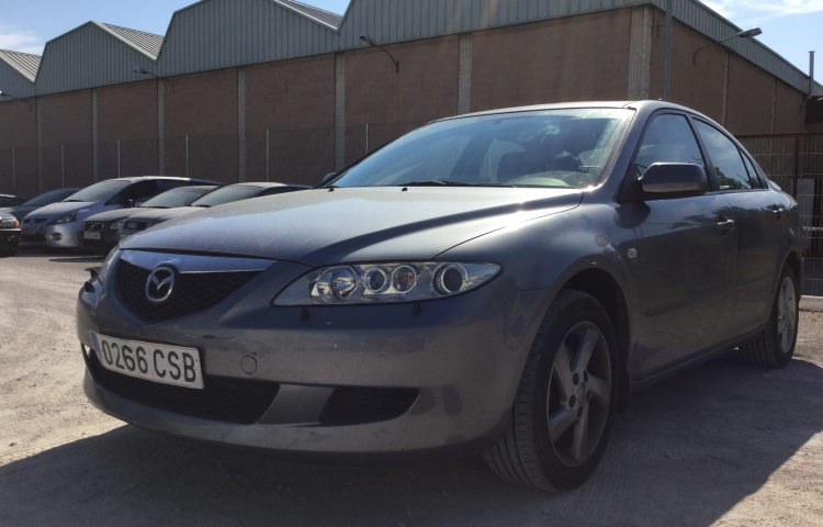 Hire a Mazda 6 in Madrid