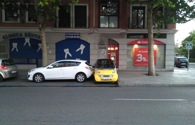 Hire a Smart ForTwo in Madrid