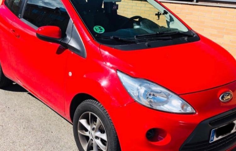 Hire a Ford Ka in Madrid