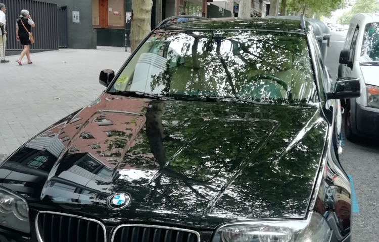 Hire a BMW X3 in Madrid