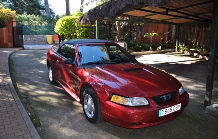 Hire a Ford Mustang in Alcobendas