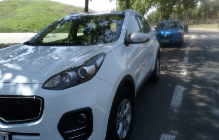 Hire a Kia Sportage in Madrid