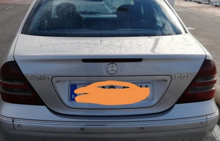 Hire a Mercedes Clase C in Sant Joan d'Alacant