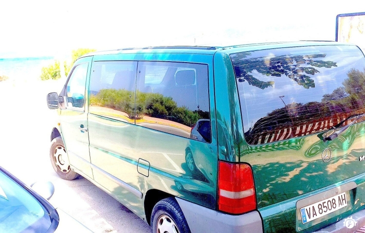 Hire a Mercedes Vito in Formentera