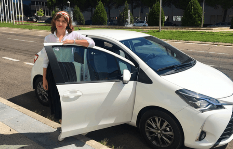 Hire a Toyota Yaris in Madrid